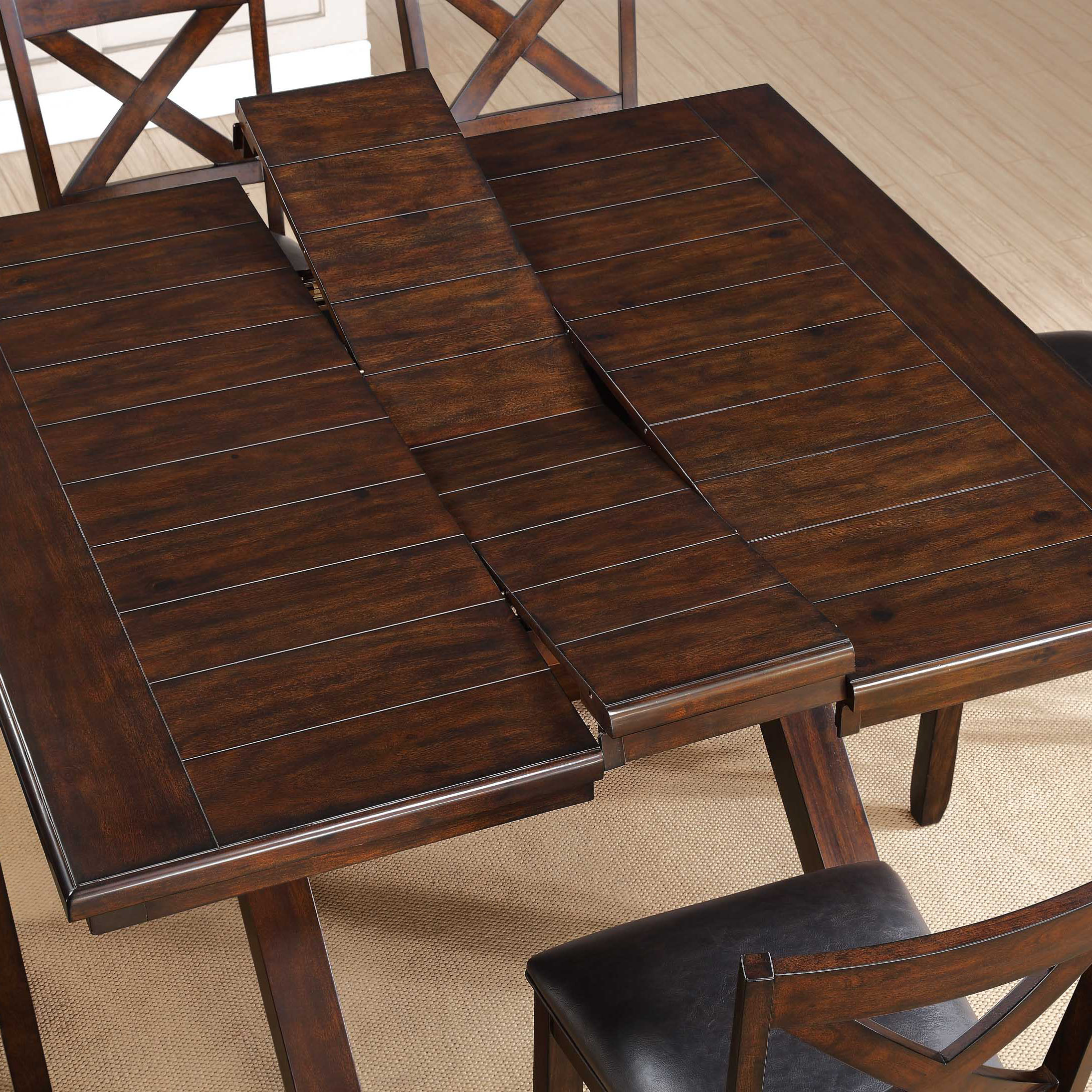 Black 9 Piece Counter Height Dining Set